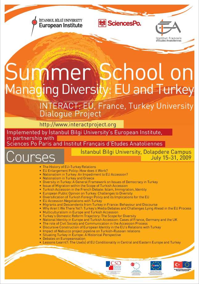 summer school at bilgi