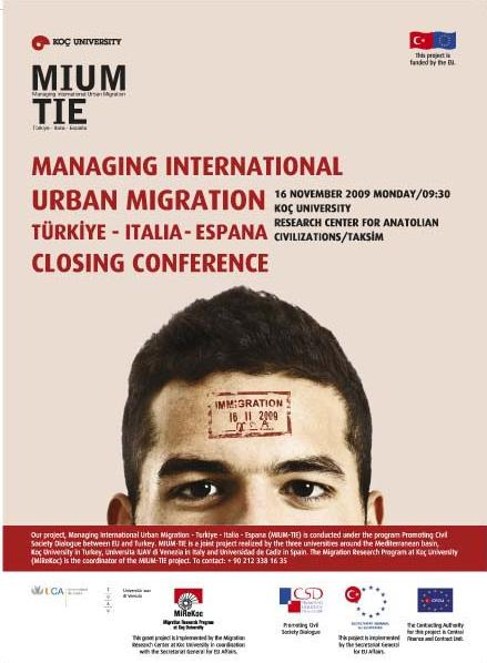 Managing International Urban Migration - Brosur